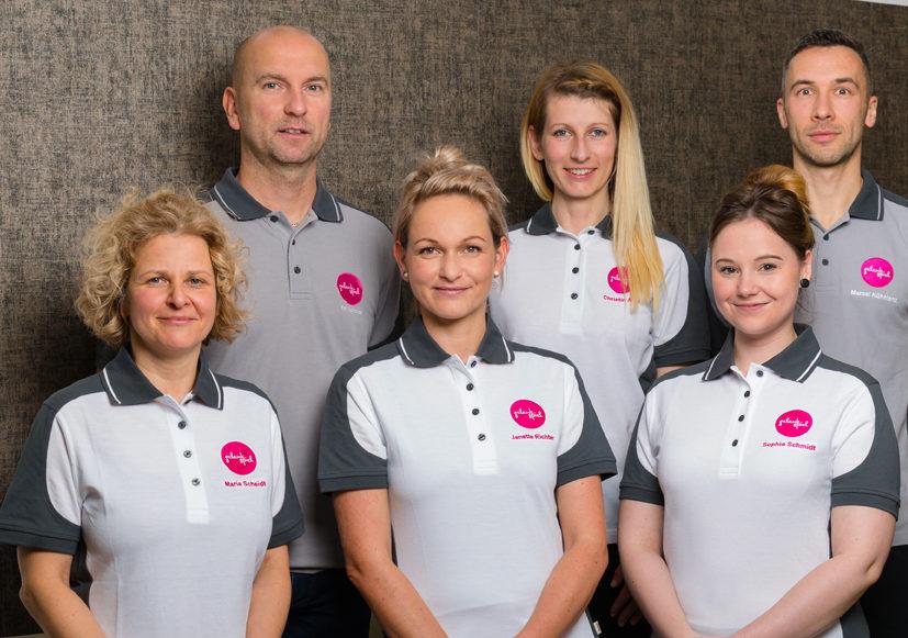 Das Team der Physiotherapie Praxis Gelenkspiel in Saalfeld